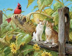 Original Paintings-Farm Scenes & Country Life   Wild Wings