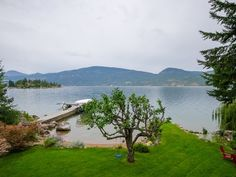 Home for Sale - 9623 SW Whitepoint RD, Vernon, BC V1H 1K8 - MLS® ID 10087977. Lake front property for sale in BC. Vernon, Okanagan, Kelowna land for sale. private lake-shore with a beautiful red sandy beach, which offers pristine waters on the amazing Okanagan Lake. A must see as this 3000 square foot home has a natural park like setting Investment Property, Property For Sale, Vernon Bc, Lakefront Property, Boat Lift, Lots For Sale, Natural Park, Residential Real Estate, Lake View