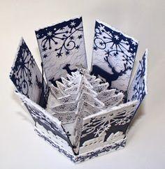 Unnis Papirhobby: Eksplosjonsboks og kort, GDT Kreativ Scrapping