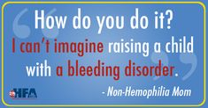 """At some point, many parents of a child with a chronic condition have been asked, """"How do you do it?"""" In this week's post of """"Infusing Love,"""" a mother of three children who don't have a #bleedingdisorder shares her unique perspective about how working with our community, and in particular with the #hemophilia moms, has helped to make her a better person, advocate, parent, and friend."""