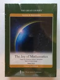 Great Courses THE JOY OF MATHEMATICS DVD Set Teaching Company Science Math