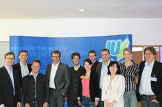 Eine große Ehre für jeden JU-Kreisverband: Die Ausrichtung der Landesversammlung der JU Bayern! Hier im Kursaal in Bad Aibling mit der damaligen Landesvorsitzenden Katrin Albsteiger und dem damaligen CSU-Fraktionsvorsitzenden im Bayerischen Landtag, Georg Schmid, MdL.