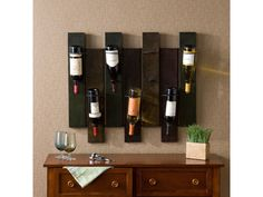 Decorative Wall Wine Rack bottle rack | horse shoes and barbed wire | pinterest | wine racks