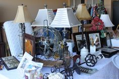 How To Have A Garage Sale. http://creatingahouseofgrace.blogspot.com/2010/04/how-to-have-garage-sale.html