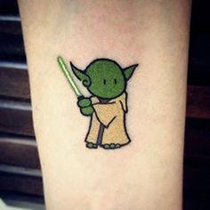 Resultado de imagen de cute star wars tattoos