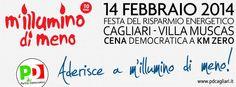 M'illumino di meno 2014 - Cagliari | Blog PD Cagliari