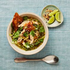 Poach perfect: Yotam Ottolenghi's recipes for buttery prawns, spicy chicken soup and ginger rhubarb