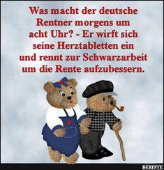 Besten Bilder, Videos und Sprüche und es kommen täglich neue lustige Facebook Bilder auf DEBESTE.DE. Hier werden täglich Witze und Sprüche gepostet! Good Morning, Haha, Teddy Bear, Funny, Animals, Fictional Characters, Cartoons, Facebook, Tv