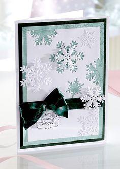 Signature Collection by Sara Davies - Festive Wonder Decorative Metal Die - Snowflake Trio