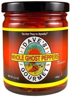 Dave's Whole Ghost Peppers