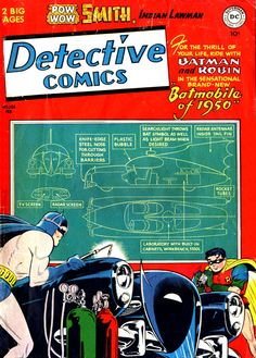 Detective Comics 156, February 1950, cover by Dick Sprang.