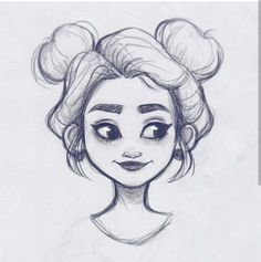 Drawing Pencil Inspiration Character Design Trendy Ideas for more visit website Girl Drawing Sketches, Pencil Art Drawings, Sketch Art, Cartoon Drawings, Drawing Ideas, Drawing Faces, Girl Face Drawing, Hair Drawings, Drawing Tips