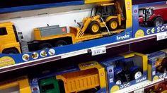 Bruder excavator big truck and loader toys in market
