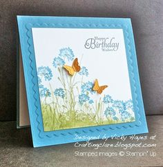 Stampin' Up ideas and supplies from Vicky at Crafting Clare's Paper Moments: Serene Silhouettes