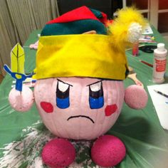 Kirby Halloween pumpkin