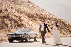 Shooting in the desert.  #palmspringswedding
