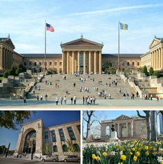 """The Philadelphia Museum Of Art introduces a new pricing structure, including two-day admission, complimentary shuttle service among Its three properties and extended """"Pay What You Wish"""" evening hours. (Photos: Top photo courtesy Philadelphia Museum of Art, bottom right, courtesy Rodin, bottom left G. Widman for GPTMC)"""