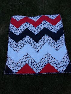 Baby Quilt / Handmade for Nursery Decor / baseball quilt/ Baby or Toddler / Ready to Ship/ SALE on Etsy, Sold Baseball Quilt, Baseball Fabric, Baseball Nursery, Sewing Crafts, Sewing Projects, Sewing Ideas, Sports Quilts, Granny Square Projects, Baseball Tournament