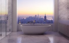 Photo Tour Of An Incredible $95 Million Penthouse In NYC.