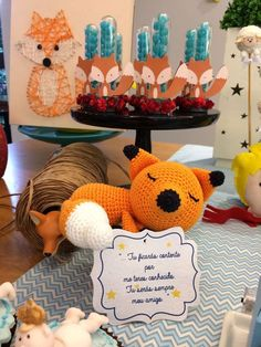 Birthday Party Desserts, 2nd Birthday Parties, Birthday Fun, Birthday Decorations, The Little Prince Theme, Little Prince Party, Fox Party, Baby Party, Fox Decor
