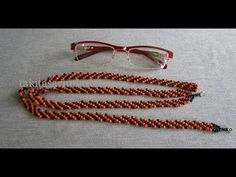I called the stitch 'braid stitch' becouse it looks like a braid when colors are used this way but by changing the colors you can m. Diy Collier, How To Make Rope, Beaded Necklace, Beaded Bracelets, Silicone Bracelets, Beaded Jewelry Patterns, Tassel Jewelry, Best Diamond, Bracelet Tutorial