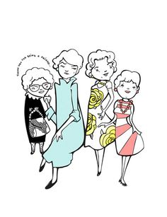Golden Girls Print | 23 Golden Girls Gifts To Say Thank You For Being A Friend