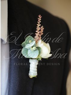 Floral pinned