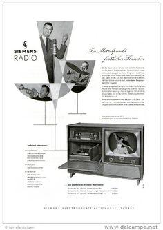 Original-Werbung/Inserat/ Anzeige 1957   1/1-SEITE - SIEMENS RADIO - ca. 250 X 170 mm
