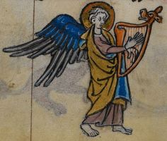 Detail from medieval manuscript, British Library Stowe MS 17 'The Maastricht Hours', f173v