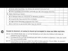DELF B1 ACT 16 Identifier la nature et la fonction du document - YouTube