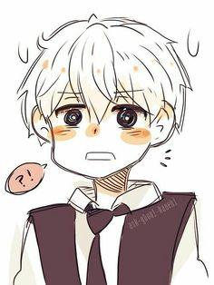 Kaneki Tokyo Ghoul, Kawaii Chibi, Noragami, Kaneki, Me Me Me Anime, Manga Anime, Otaku, Art Drawings, Comics