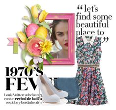 """LIVE"" by dzenanavb ❤ liked on Polyvore featuring Mary Katrantzou, Nanette Lepore and Lipsy"