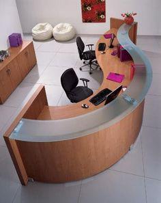 Muebles de Recepción diseñados a la medida de cada espacio.