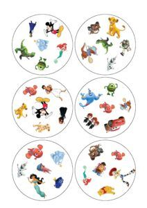 Красивые карточки Доббль распечатать бесплатно | Аналогий нет Decorative Plates, Tableware, Ideas, Games, Dinnerware, Tablewares, Dishes, Place Settings