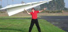 L'aeroplano di carta più grande del mondo