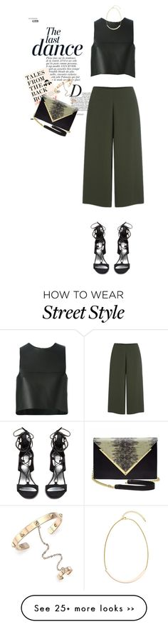 """""""NYFW Street Style // Tales From The Back Row 3.0"""" by perilousness-fashion on Polyvore featuring Anja, Fendi, Cameo, Stuart Weitzman, Valentino, Dareen Hakim and H&M"""