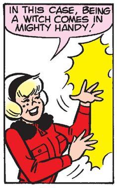 Vintage Chilling Sabrina