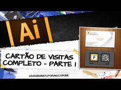 Criando um cartão de visitas no Illustrator COMPLETO! - Final - YouTube