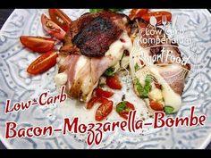 Die Low-Carb Bacon-Mozarella-Bombe ist einfach der Knaller! - Genau, nämlich bombig lecker! Ideal, wenn dich der kleine Heißhunger überkommt.