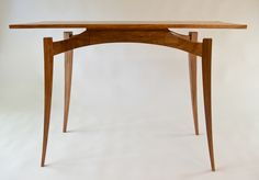 Handkrafted - Mantis Table handmade by Ben Percy. Tasmanian Blackwood and Koto. Australian Made.