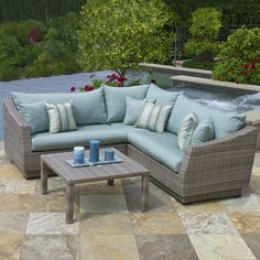 Found it at Wayfair - Alfonso 4 Piece Deep Seating Group