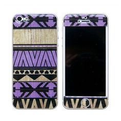BlissfulCASE AZTEC 3D GEL SKIN PURPLE FOR IPHONE 5 (35 AUD) ❤ liked on Polyvore featuring accessories, tech accessories, phone case, phones y multi