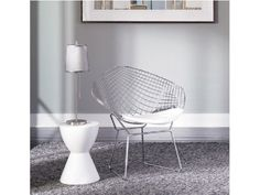 Net Chair - White Accent Chair by Hightower Furniture White Accent Chair, Accent Chairs, Porch Chairs, Chairs For Rent, Interior Architecture, Interior Design, Cabins And Cottages, Modern Minimalist, Contemporary Design