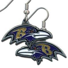 NFL Baltimore Ravens Dangle Earrings by Siskiyou. $1.45. NFL  Dangle Earrings