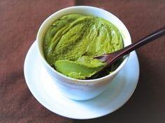 5分で完成!新緑のマグカップ抹茶プリン