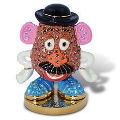 Jeweled Toy Story Figurine by Arribas -- Mr Potato Head | Figurines & Keepsakes | Disney Store