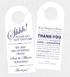 Set of 10  DoubleSided Door Hanger for by GrandDesignsbyJoanna, $18.00