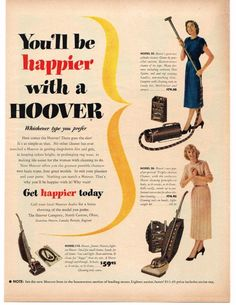 Nobody gets the dirt like a Hoover.  Nobody.