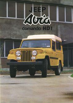1981 Jeep Comando. Brochure