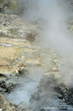"""#Soufriere Volcano in St. Lucia is considered as the only """"drive-in"""" volcano in the world!"""
